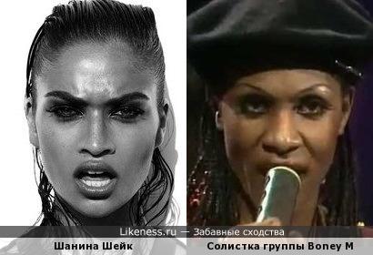 Шанина Шейк и Марсия Баретт