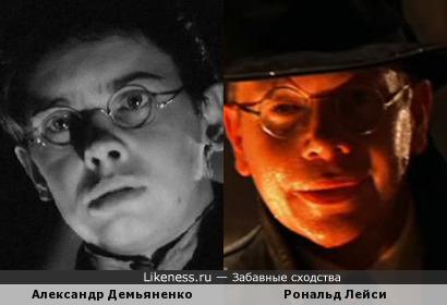 Александр Демьяненко и Рональд Лейси
