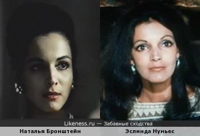 Наталья Бронштейн и Эслинда Нуньес