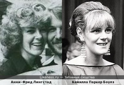 Анни-Фрид Лингстад и Камилла Паркер Боулз