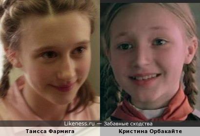 Таисса Фармига и Кристина Орбакайте