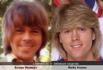 Бьорн Ульвеус (ABBA) и Майк Нолан (Bucks Fizz)