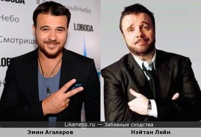 Эмин Агаларов и Нэйтан Лейн
