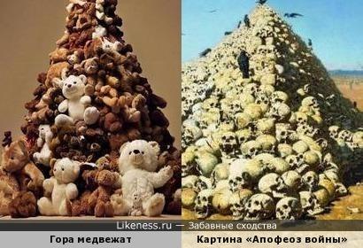 Гора медвежат и В. В. Верещагин. «Апофеоз войны».