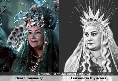 Ольга Викландт и Елизавета Шумская