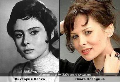 Виктория Лепко и Ольга Погодина