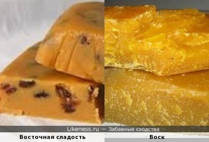 Восточная сладость и воск