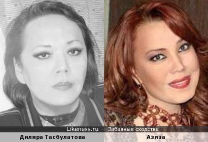 Диляра Тасбулатова и Азиза