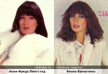 Анни Фрида Лингстад и Виола Валентино