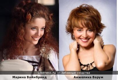 Марина Вайнбранд и Анжелика Варум