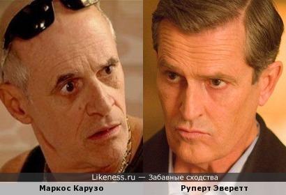 Маркос Карузо и Руперт Эверетт