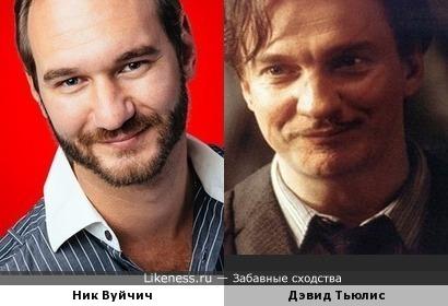 Ник Вуйчич и Дэвид Тьюлис