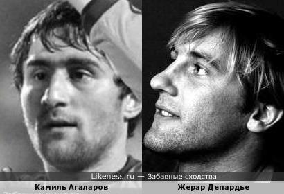 Камиль Агаларов и Жерар Депардье
