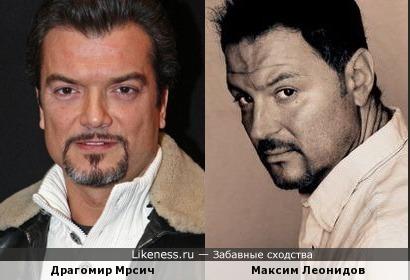 Драгомир Мрсич и Максим Леонидов