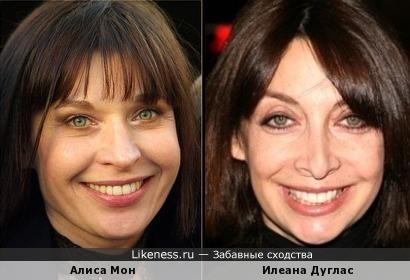 Алиса Мони и Илеана Дуглас