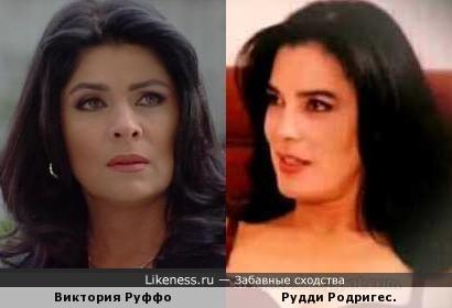 Виктория Руффо и Рудди Родригес.