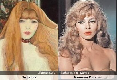 Луи Анкетен «Женщина, расчесывающая волосы» и Мишель Мерсье