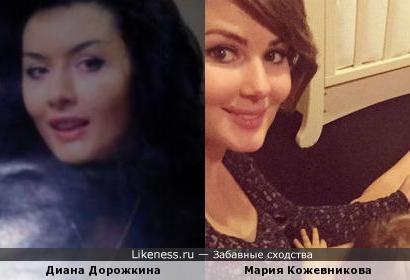 Диана Дорожкина и Мария Кожевникова