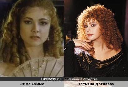 Эмма Сэммс и Татьяна Догилева