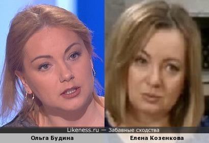 Ольга Будина и Елена Козенкова
