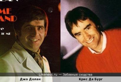 Джо Долан и Крис Де Бург