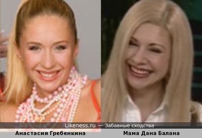 Анастасия Гребенкина и Людмила Балан