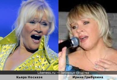 Кьяра Носкезе и Ирина Грибулина