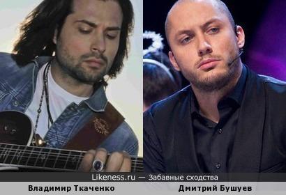 Владимир Ткаченко и Дмитрий Бушуев