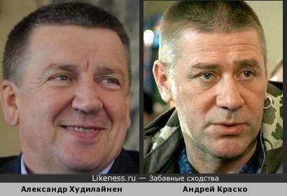 Губернатор Карелии немного похож на Андрея Краско