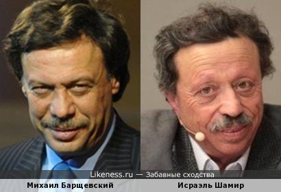 Адвокат Барщевский и писатель Шамир