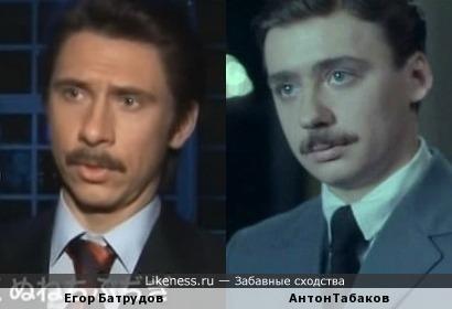 Депутат Батрудов и Антон Табаков