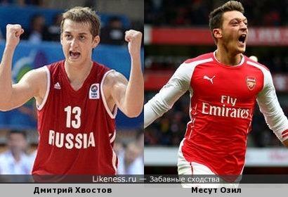 Баскетболист и футболист