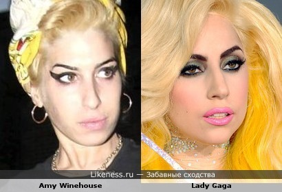 Amy Winehouse VS Lady GaGa