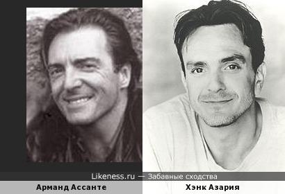"Арманд Ассанте похож на Хэнк Aзария (""Ночь в музее-2 )"