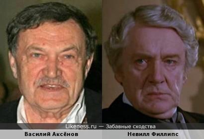 Василий Аксёнов похож на Невилла Филлипса