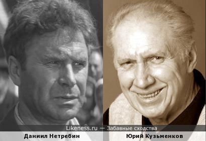 Юрий Кузьменков похож на Даниила Нетребина