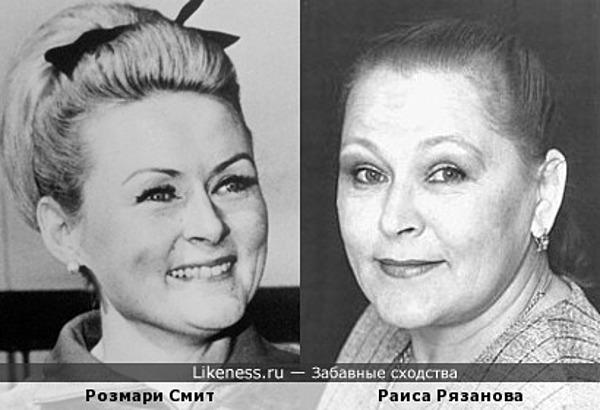 Ирландская гонщица Розмари Смит похожа на Раису Рязанову