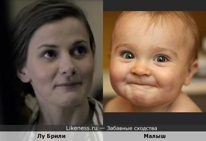Малыш напомнил Молли Хупер)