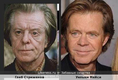 Глеб Стриженов и Уильям Мейси