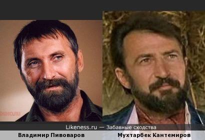 каскадёры Владимир Пивоваров и Мухтарбек Кантемиров имеют что-то общее