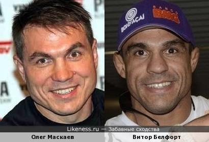 Олег Маскаев и Витор Белфорт
