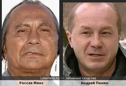 Рассел Минс и Андрей Панин