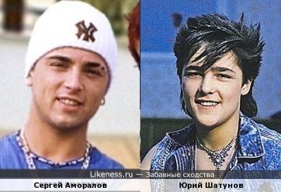 простите за повтор- этот ракурс поудачнее будет: Сергей Аморалов и Юрий Шатунов