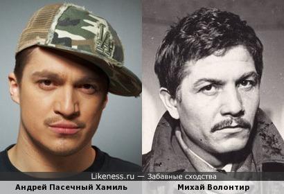 Андрей Пасечный Хамиль и Михай Волонтир