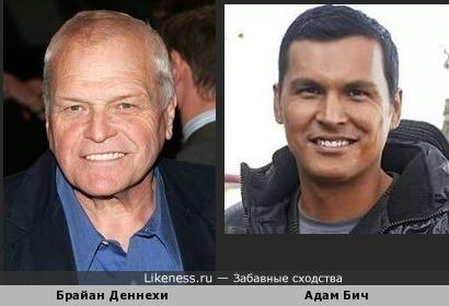 видимо все расы имеют общего предка - европеоид Адам Бич и монголоид Брайан Деннехи