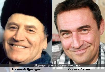 Николай Дроздов и Камиль Ларин