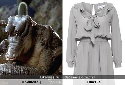 Пришелец в платье
