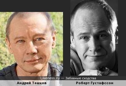 Андрей Ташков и Роберт Густафссон