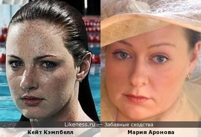 Пловчиха и актриса