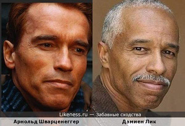 Арнольд Шварценеггер и Дэмиен Лик